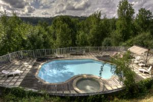 Swimming Pool for Hotel and Gite guests